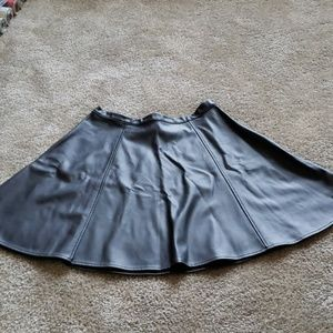 Lauren Conrad vegan leather skirt